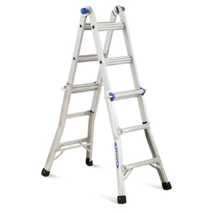 Werner 13' Aluminum Multi-Position Folding Ladder rental Austin, TX