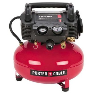 Porter Cable 150 PSI, 6 Gal Oil-Free Pancake Compr rental Atlanta, GA