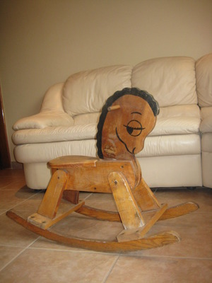rocking horse for baby or child aged up to 3 rental New York, NY