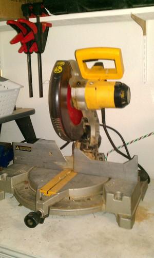 """DeWalt 12"""" Compound Miter Saw rental Austin, TX"""