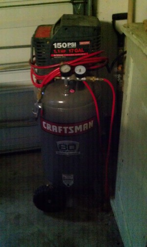 Craftsman 17 Gal Air Compressor rental Austin, TX