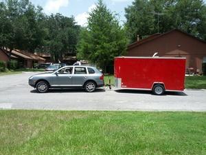 12 x 6 enclosed trailer rental Gainesville, FL