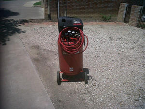 Craftsman Air Compressor rental Dallas-Ft. Worth, TX