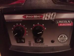Lincoln Pro Mig 180 Welder rental Austin, TX