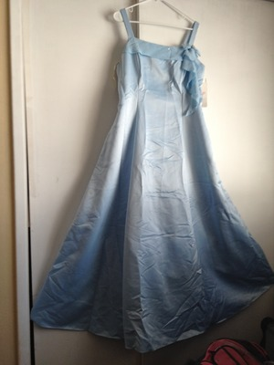 """XL, light blue, long, Dress by """"Let's fashion"""" rental San Francisco-Oakland-San Jose, CA"""