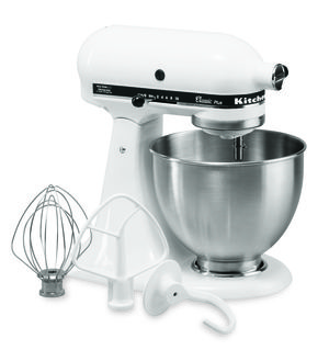 Kitchen Aid Stand Mixer with 4.5 quart Mixing Bowl rental Chicago, IL