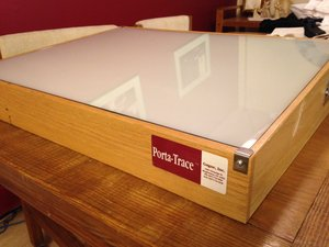 Light Box for Artists rental Philadelphia, PA