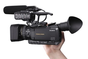 Sony HRX NX70U HD Run-and-Gun camcorder rental Chicago, IL