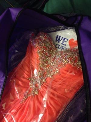 La Femme Prom Dress  rental San Francisco-Oakland-San Jose, CA