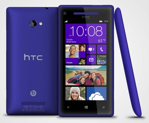 AT&T HTC 8X smartphone rental Baltimore, MD