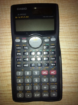 Casio fx-991MS Scientific Calculator rental Seattle-Tacoma, WA