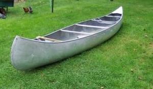 Grumman 15 aluminum canoe boat with webbed seats! rental New York, NY