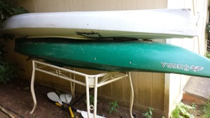 Kayak (2) with paddles.  rental Portland, OR