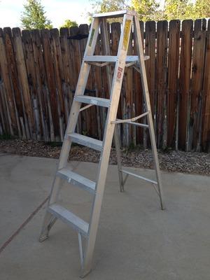 6 Foot Aluminum Ladder rental Denver, CO