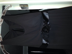 Vera Wang evening gown (size 2 black) rental Nashville, TN