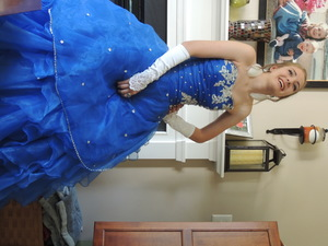 Ballgown Prom Dress with Hoop rental Philadelphia, PA