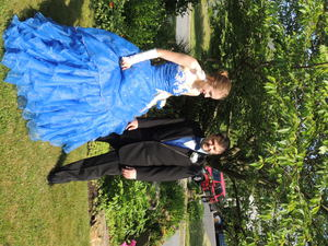 Ballgown Prom Dress with Hoop rental Philadelphia, PA
