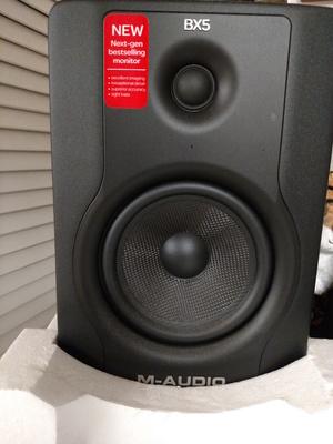 (2) m-audio BX5 speakers rental Detroit, MI