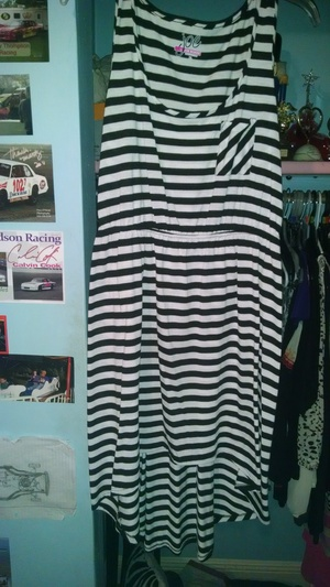 black and white dress rental Mobile, AL-Pensacola, FL