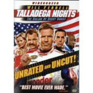 Talladega Nights Unrated & Uncut Ricky Bobby DVD rental Dallas-Ft. Worth, TX
