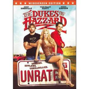 Dukes of Hazzard UNRATED Widescreen DVD rental Dallas-Ft. Worth, TX