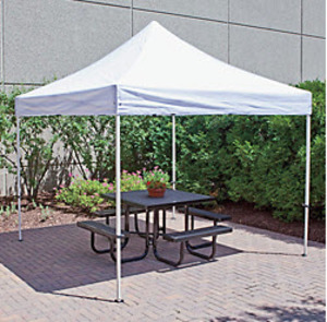 10' x 10' White Canopy rental Houston, TX