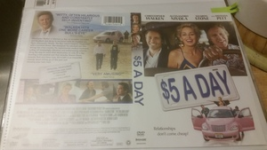 $5 A Day - DVD (2008) Christopher Walken, S. Stone rental Boston, MA-Manchester, NH