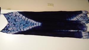 Blue and purple tie dye dress rental Seattle-Tacoma, WA