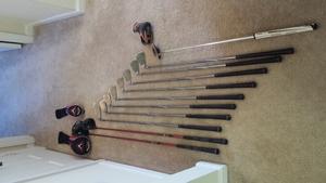Golf Clubs: Woods, Irons, Putter rental Nashville, TN