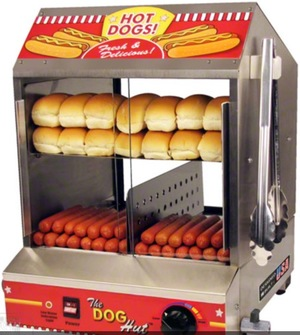 Paragon 8020 Hot Dog Steamer / Stand rental Waco-Temple-Bryan, TX