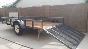 Utility Trailer for UTV, RZR, ATV, quads or golf rental Phoenix, AZ