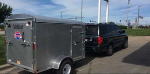 5x8 Enclosed Trailer w/ Truck rental Portland, OR