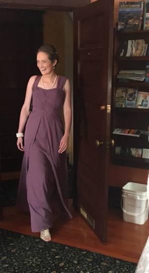Lavender Bridesmaid Dress rental Portland, OR