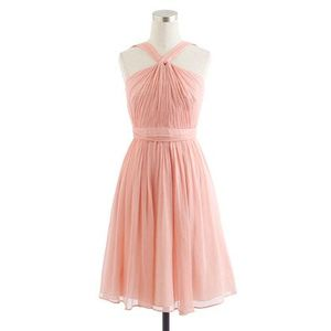J.Crew Ballet Pink Chiffon Dress  rental Washington, DC (Hagerstown, MD)