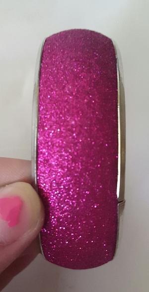 Pink and silver bangle bracelet rental Seattle-Tacoma, WA