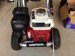 Pressure Washer For Rent - 3400 PSI, 2.5 GPM rental Columbia, SC