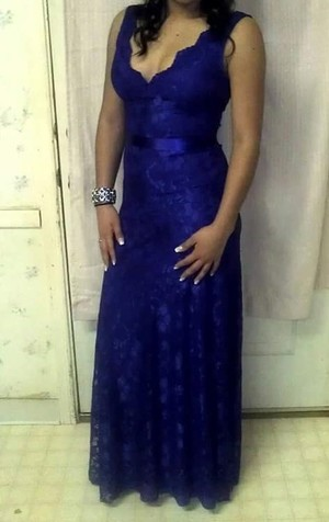 Royal Blue Dress rental Raleigh-Durham (Fayetteville), NC