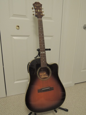 Epiphone AJ40TLC-VS acoustic guitar rental Boston, MA-Manchester, NH