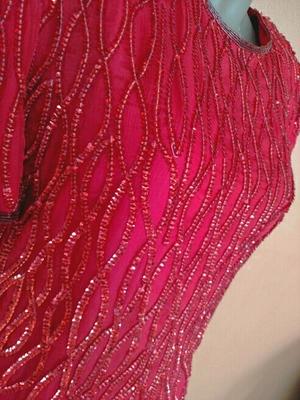 Red Sequin Vintage Dress rental Washington, DC (Hagerstown, MD)