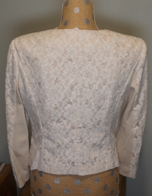 All-Over Lace One-Button Cropped Jacket rental Philadelphia, PA