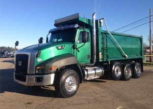 2013 CAT Dump truck rental Atlanta, GA