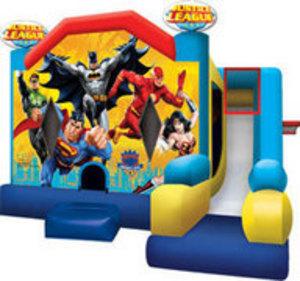 Bounce House & Slide Combo - Justice League rental Austin, TX