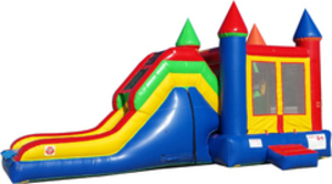 Bounce House Jump N Slide Combo - Castle rental Austin, TX