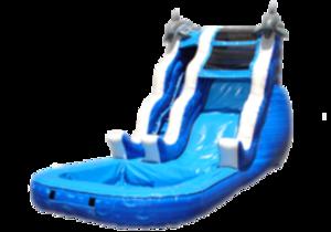 Dolphin Water Slide - 16'  rental Austin, TX