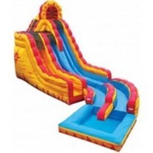 Fire & Ice Water Slide w/Pool - 20' rental Austin, TX