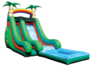 Tropical Super Splash Water Slide - 18' rental Austin, TX