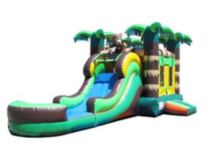 Rain Forest Jump N Slide Water Slide rental Austin, TX