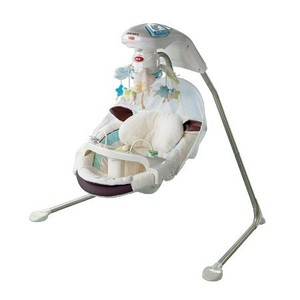 Fisher Price My Little Lamb Cradle & Swing rental Austin, TX