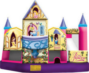 Disney Princess Bounce House Party Package rental Austin, TX