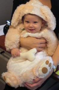Puppy dog costume for baby rental Austin, TX